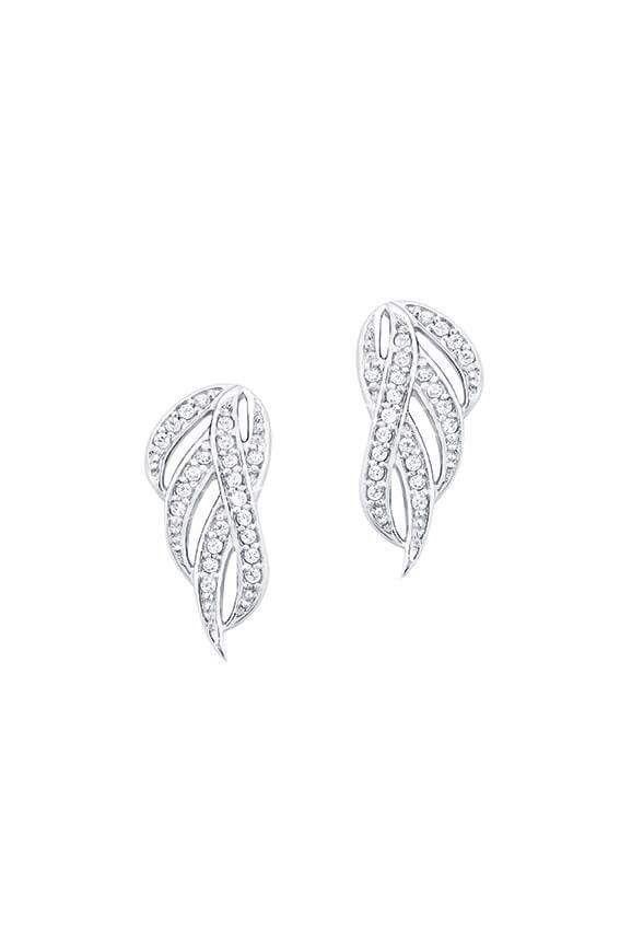 51de0415f2135 Amor fine jewellery Sterling silver 925 cubic zirconia earrings ...