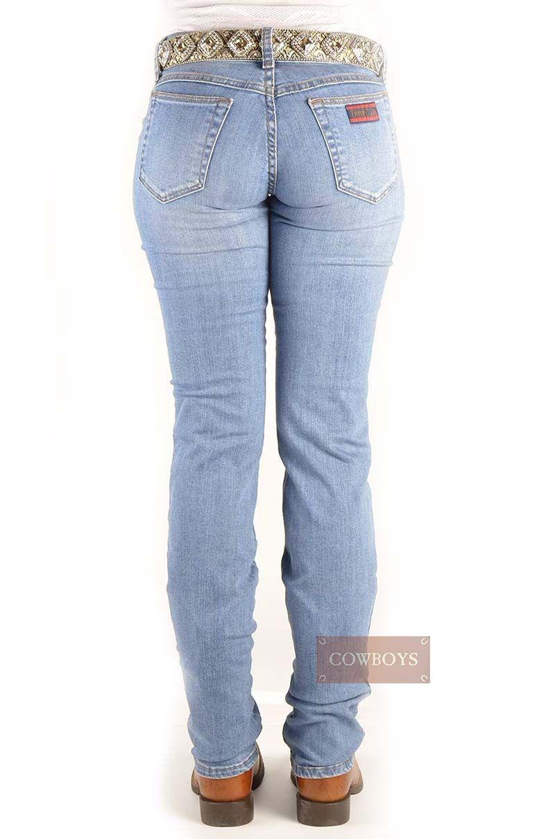 Calça 20x wrangler Feminina Slim Fit Stretch Azul Clara Stonada Barra  Tradicional calça Jeans 20x wrangler 99fc1119c63