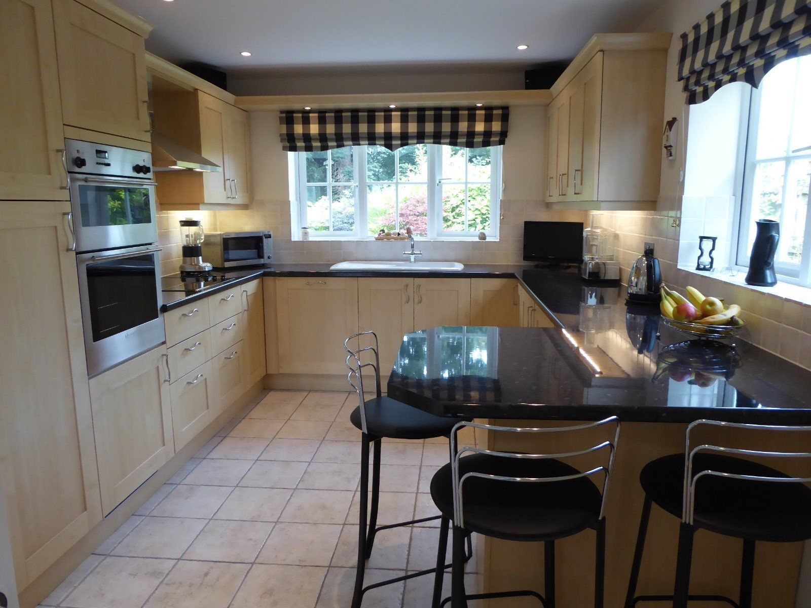 Uncategorized Ebay Appliances Kitchen complete fitted kitchen in maple with neff appliances and franke sinks ebay