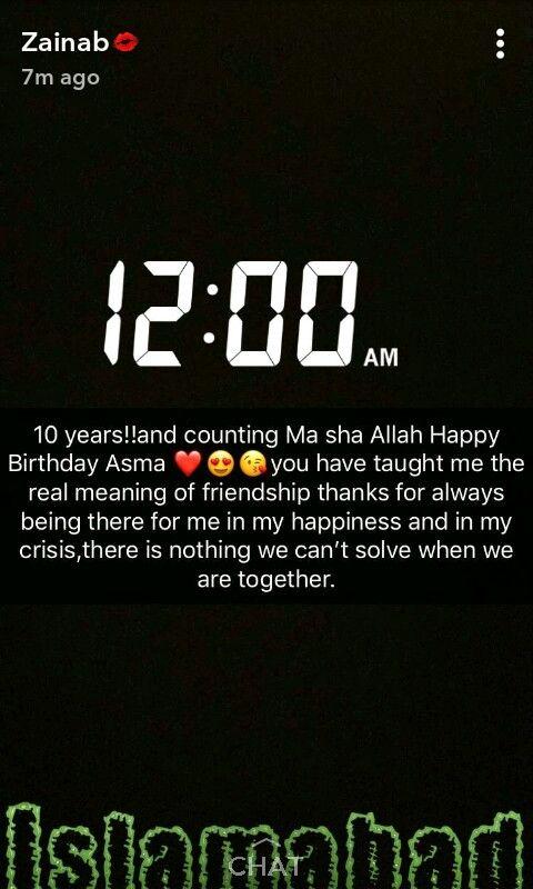 Birthday Wishes Ily Zainab Asma Mujeer With Images