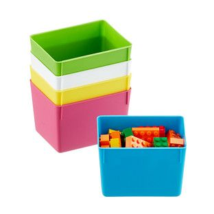 Small Smart Store Inserts Lego storage Container store and Organizing