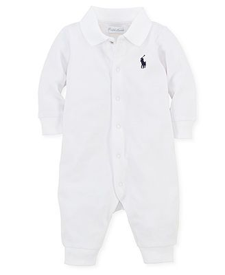 Ralph Lauren Baby Coverall, Baby Boys Polo Jumpsuit