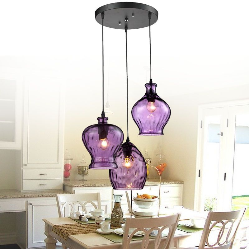 Cheap light weight mountain bike buy quality pendant light cover glass lighting directly from china glass light suppliers modern stainde glass pendant light fixtures purple wine shade lamp bar restaurant living room aloadofball Choice Image