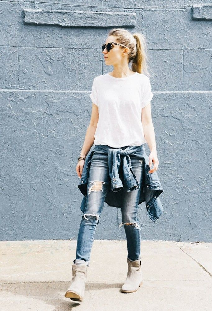 The Best New Boot and Jeans Combinations for Fall   Simple outfits for teens,  Tomboy fashion, Simple outfits