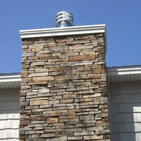 Stone chimney google search stone chimneys pinterest for Stone chimneys
