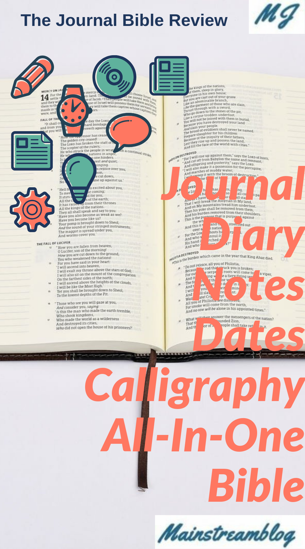 Need a Bible with margins? Check out the Journal Bible ...