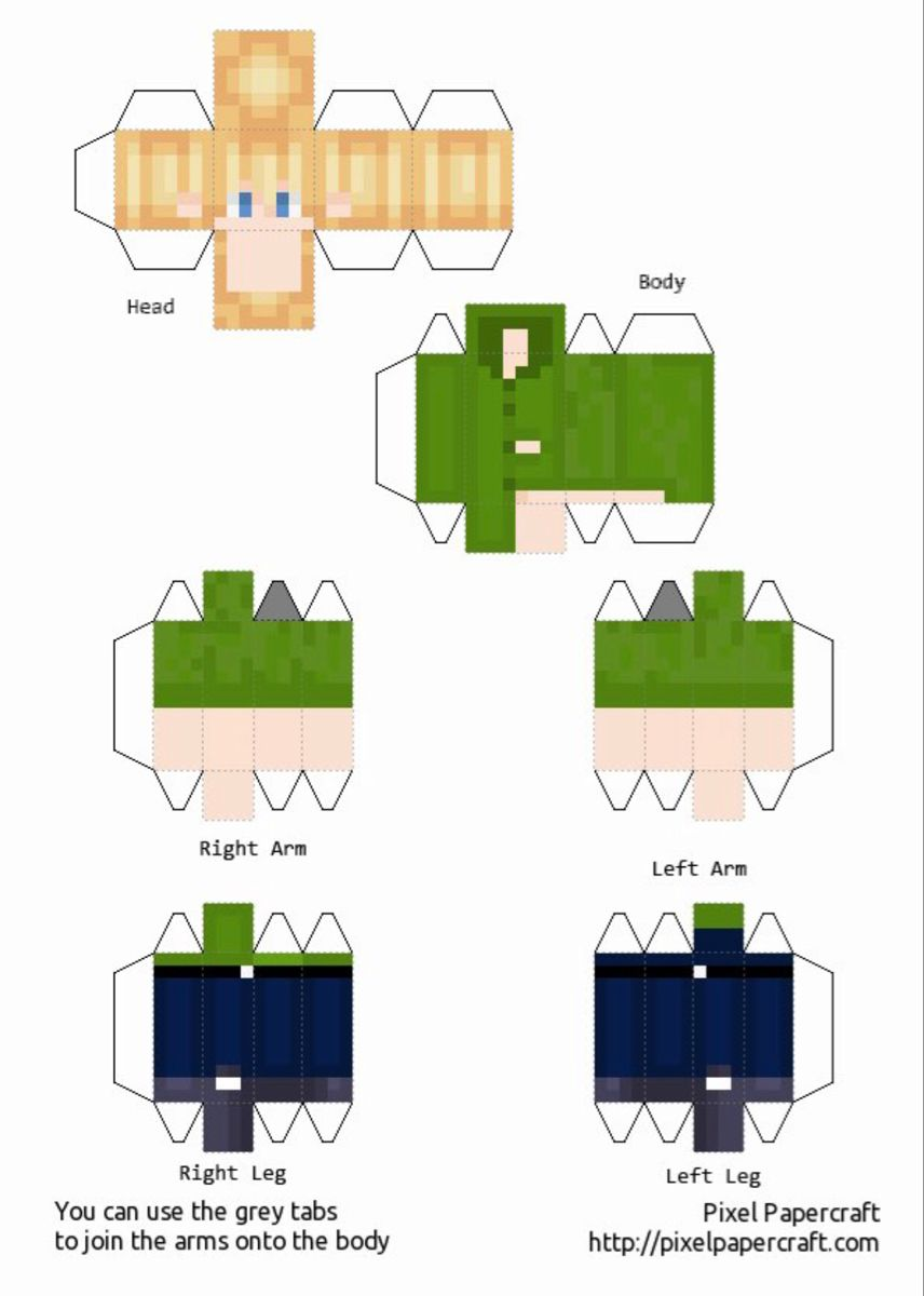 Pin by Julie Thomson on Agende  Papercraft minecraft skin