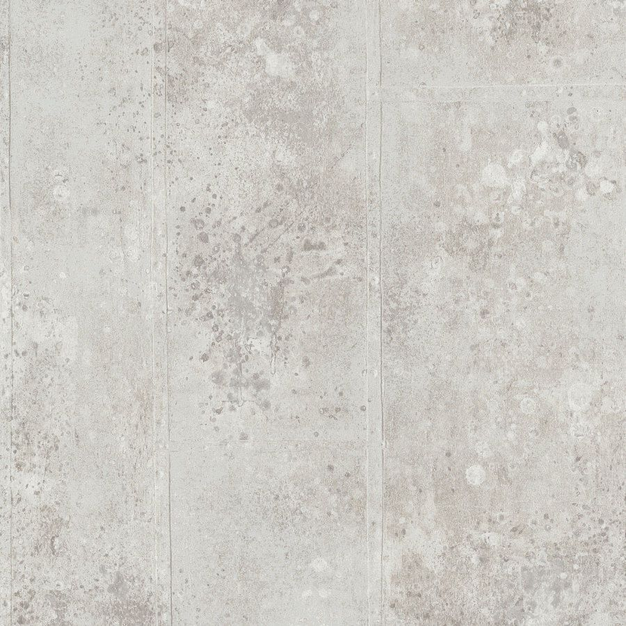 p.s origin 42100-50 l tapete vlies beton optik creme silber | béton