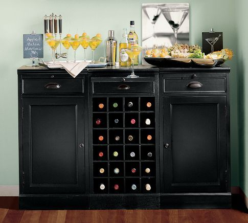 Build Your Own Modular Bar Cabinets Built In Wine Rack