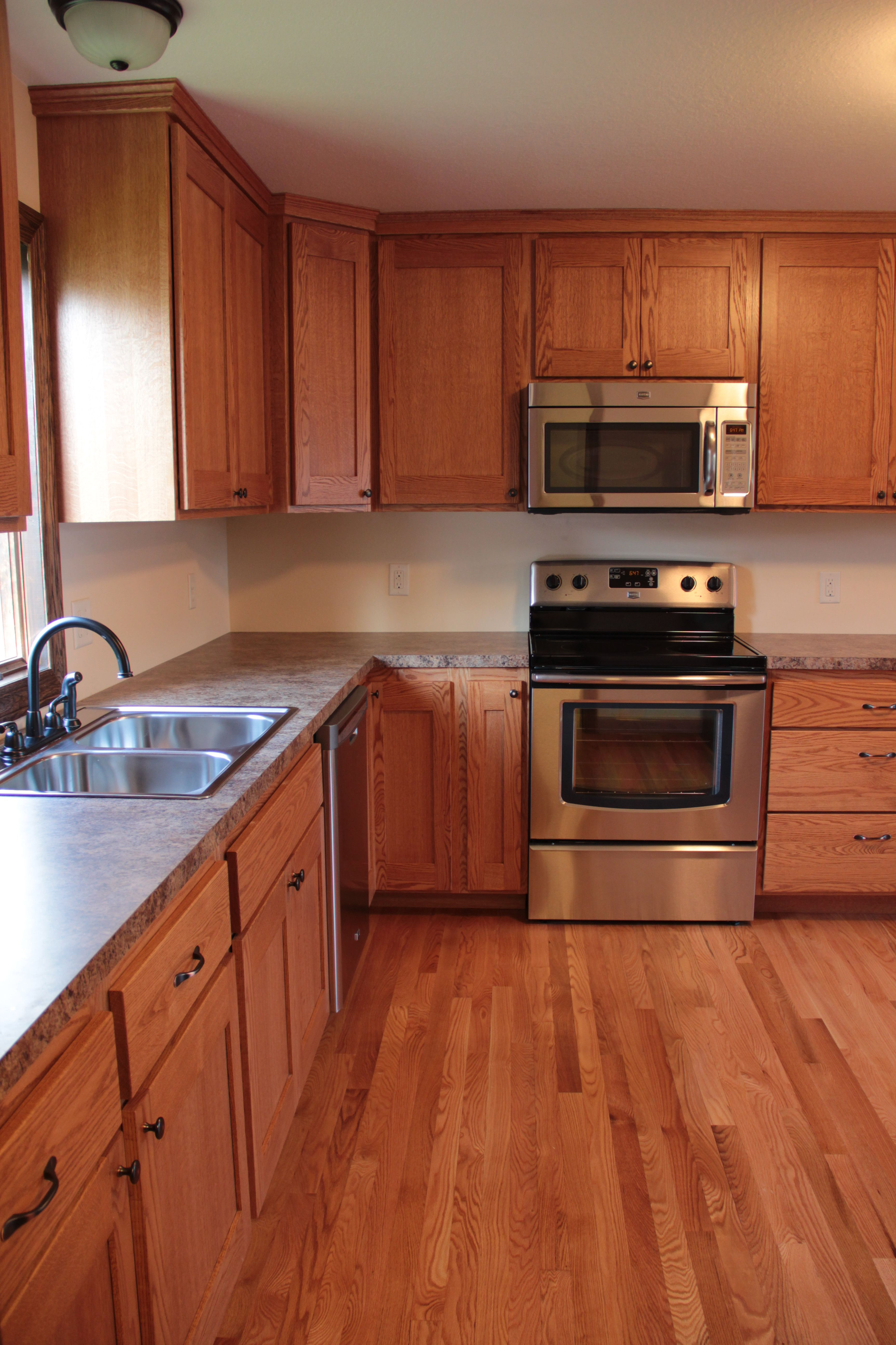 Early American Stain Kitchen Cabinets Red Oak Flooring Stain Options With Cherry Cabinets Nutmeg Antique Brown Early American Spice Nat Red Oak Floors Wood Floor Stain Colors Oak Floor Stains