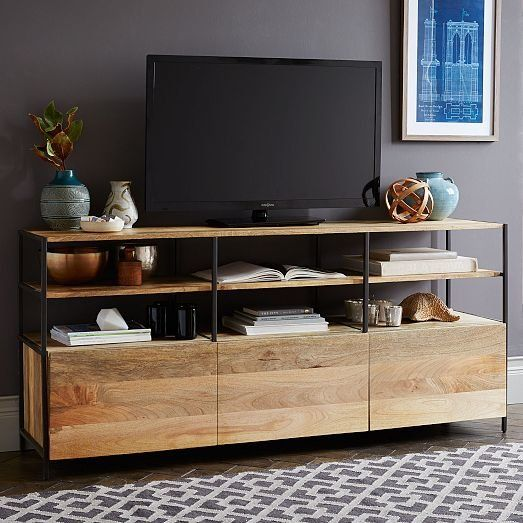 Rustic Modular 67 Media Console From West Elm Media Console Modern Media Console Modular Furniture