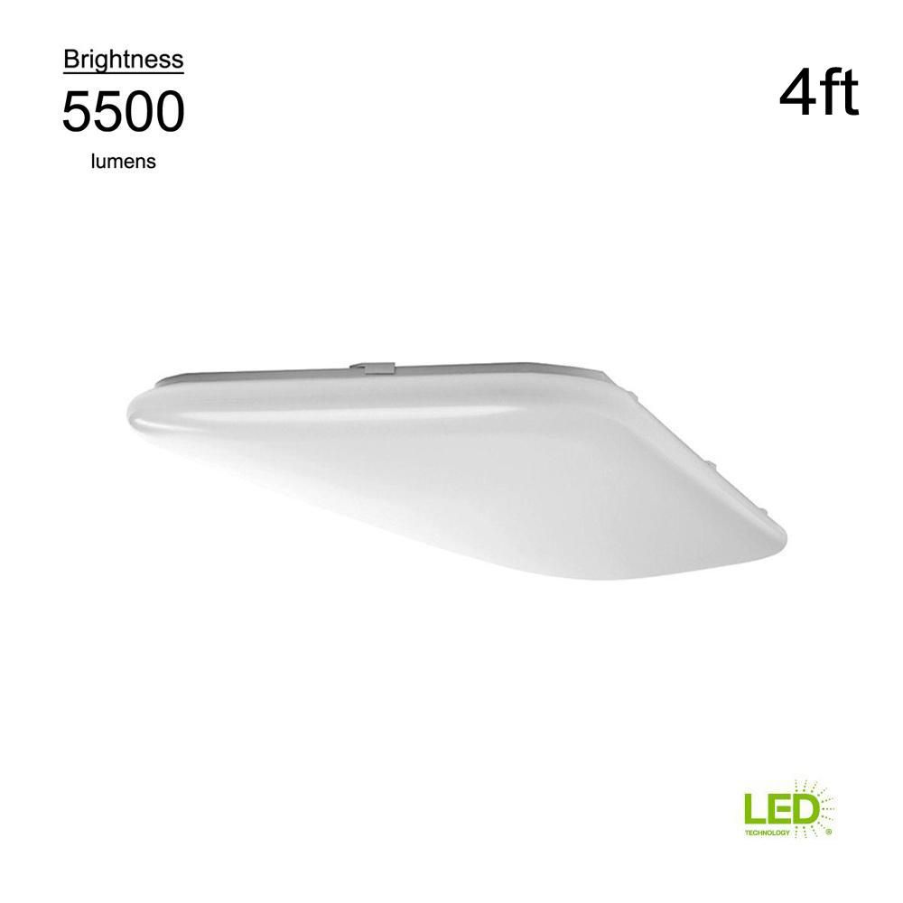 """Dimmable Hampton Bay 16/"""" Round Bright//Cool White LED Ceiling Flushmount"""