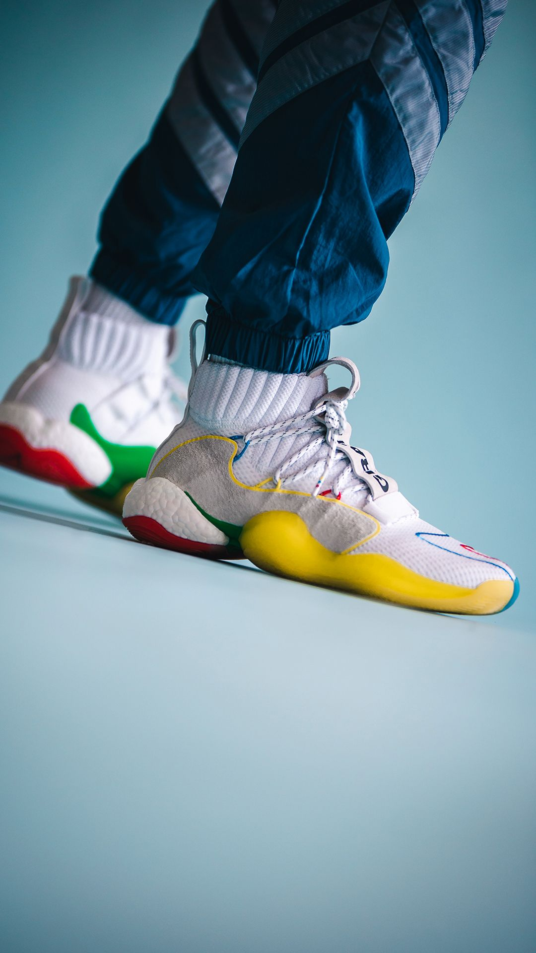 adidas Pharrell Williams Crazy Byw Lvl X Mesh Snea Herren