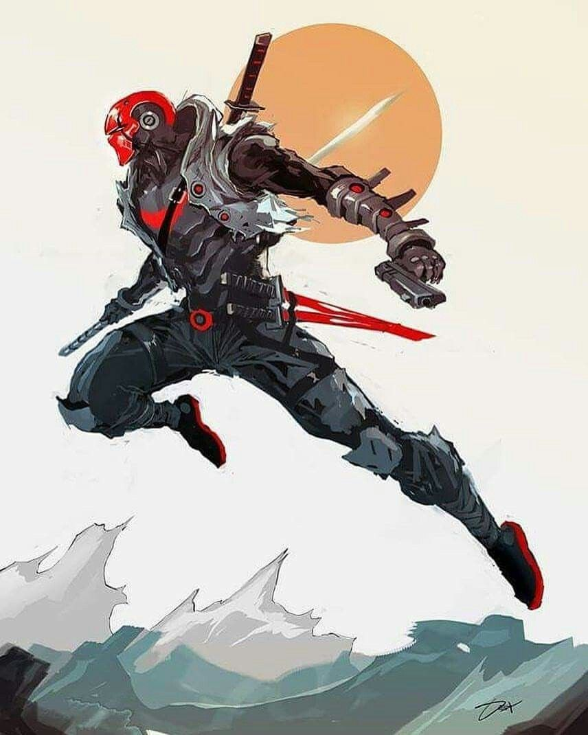 Just when you think the Red Hood couldn't get anymore badass he goes and does this