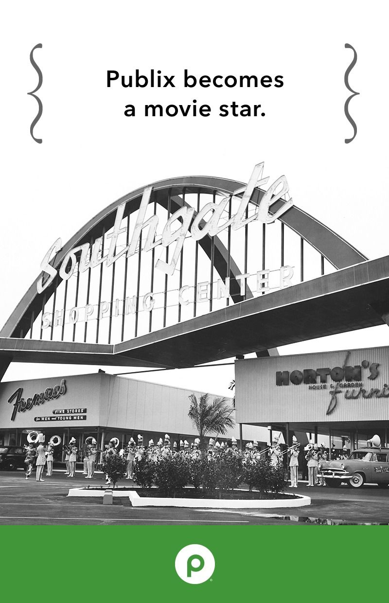 This iconic Publix shopping center was featured in the