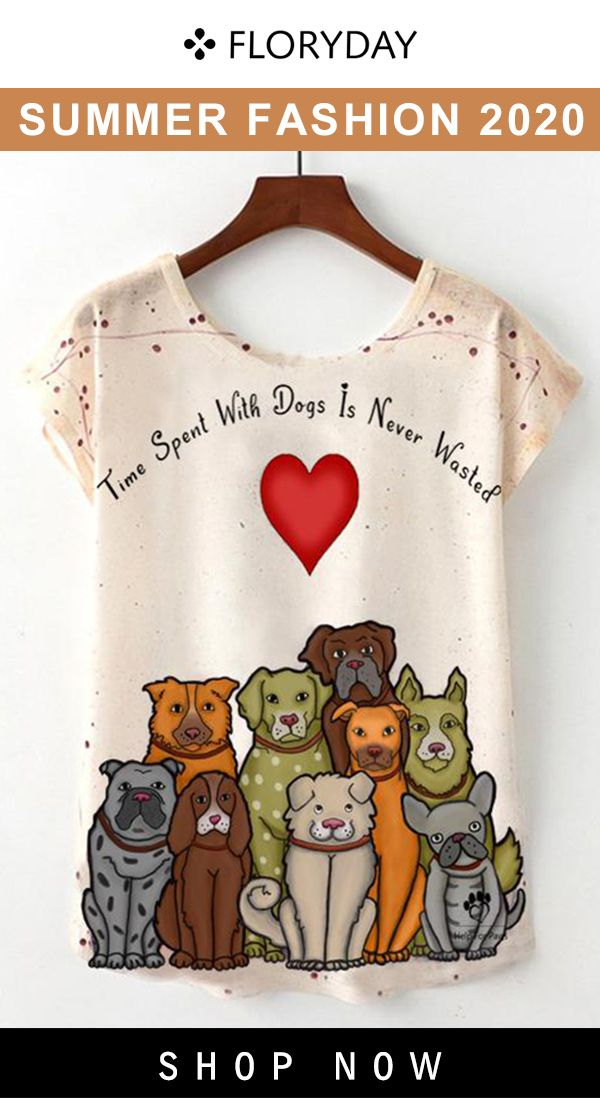 Animal round neck short sleeve t-shirt