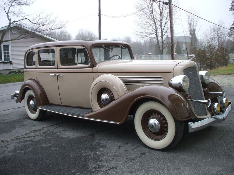 1935 Buick Maintenance Restoration Of Old Vintage Vehicles The