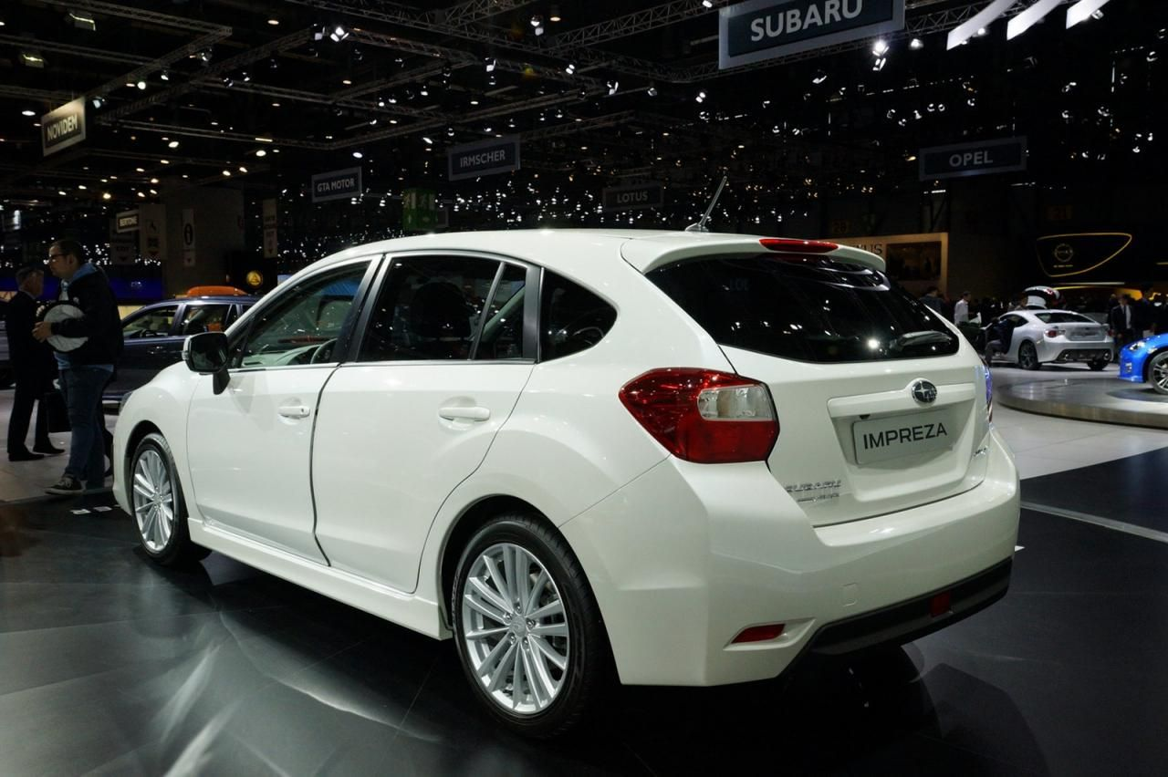 Европейский дебют Subaru BRZ и Impreza 2012 Geneva