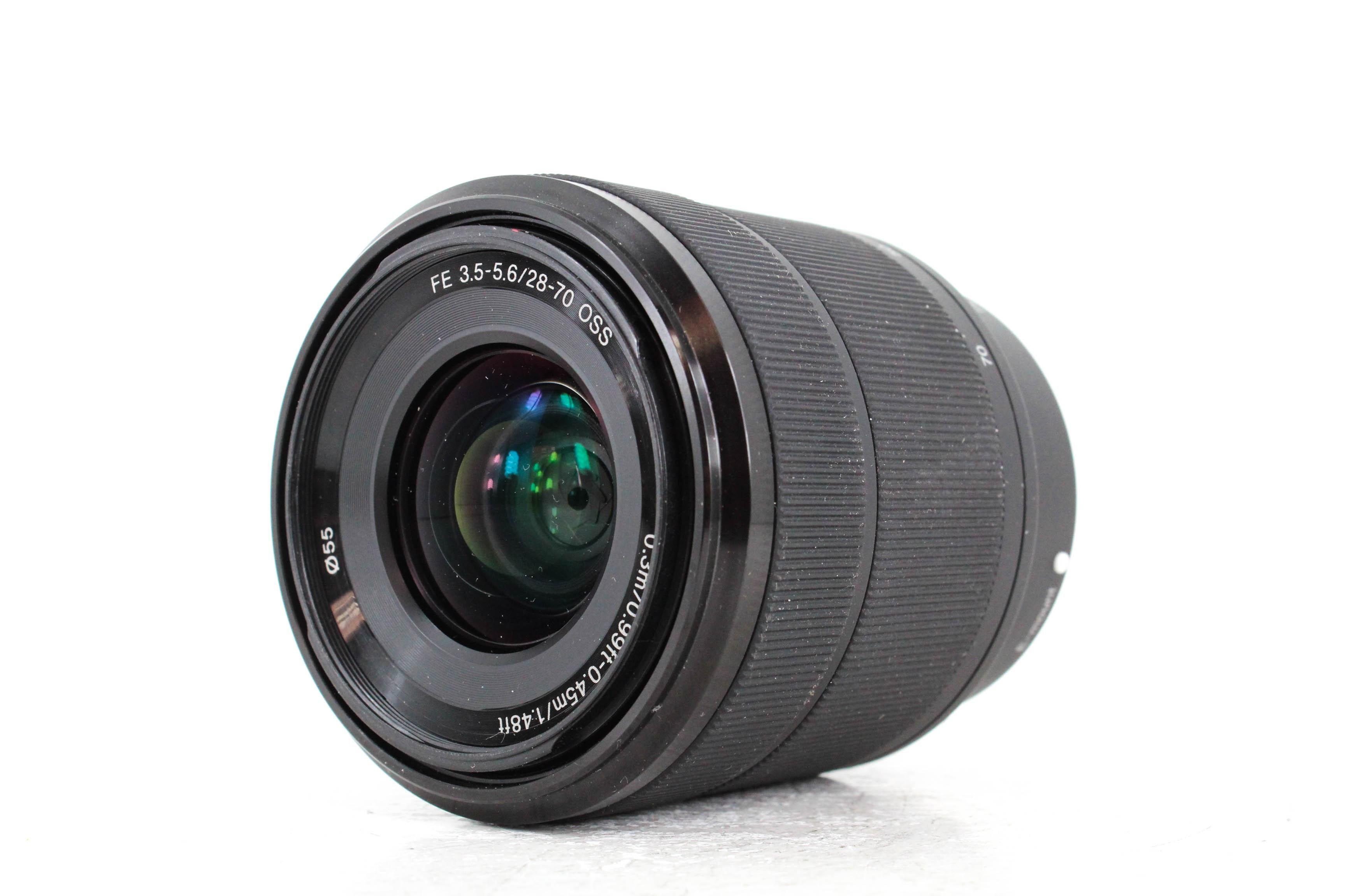 28 70mm 219 Used Sony Fe 28 70mm F3 5 5 6 Oss Lens Mpb Com Oss Sony Lenses Sony