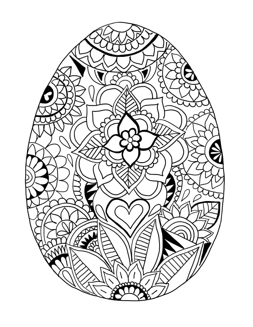 B D Designs Free Coloring Page Easter Kleurplaat Pasen Gratis Kleurplaten Paasei Doe Het Zelf Pasen