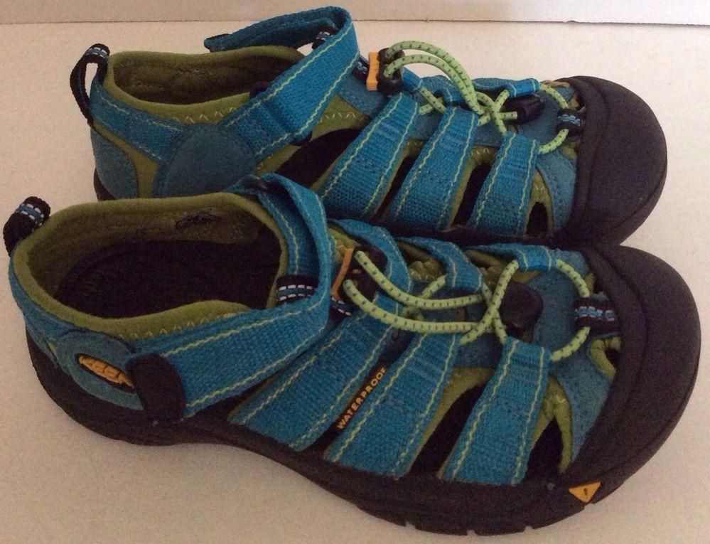 98e45a914507 Keen Sandals 2 Big Boy girl Newport Turquoise green Athletic Sport Summer  Shoes  KEEN  Sandals