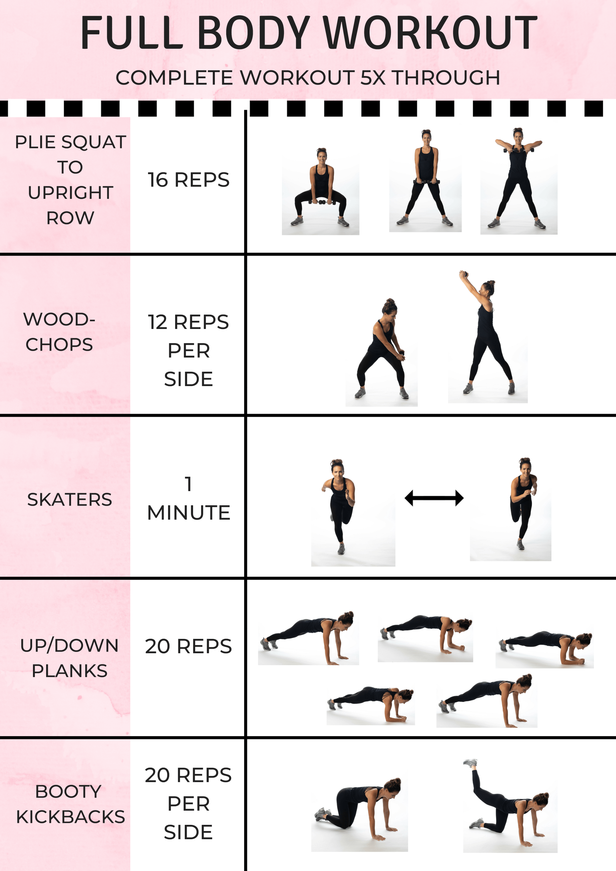 5-Move Full Body Workout | Bess Harrington Carter
