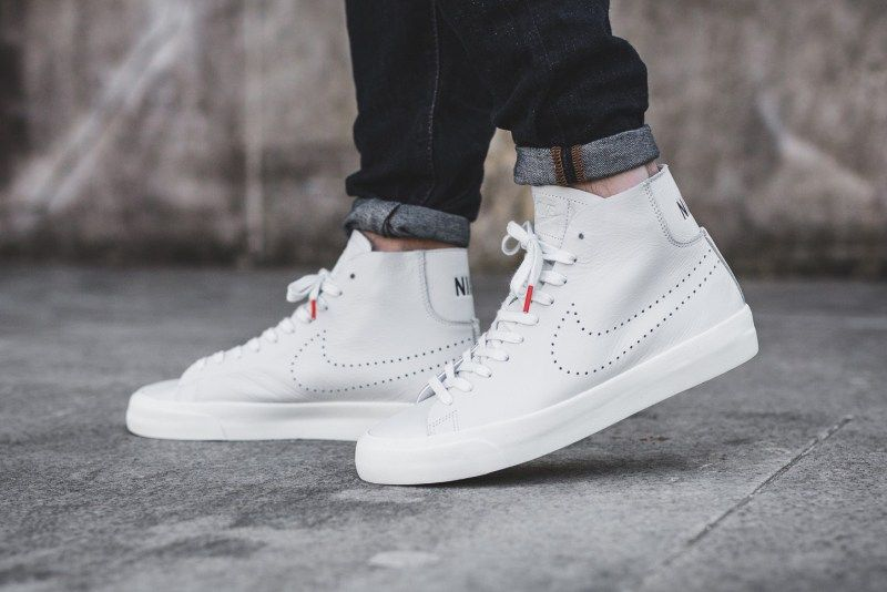 Nike Deconstructs the Blazer in 2020 | All white sneakers