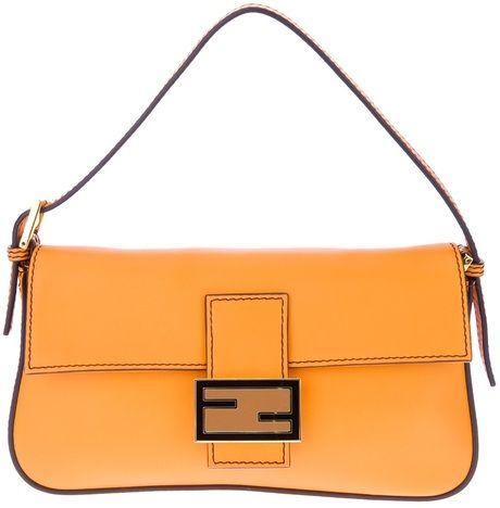 82051ee5a53f Women s Orange Baguette Bag