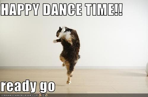 I Learned About This Recently Sharenator Happy Dance Meme Dance Memes Happy Friday Dance
