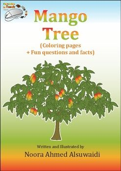 Mango Tree Coloring Pages Fun Questions And Facts I Love To Draw