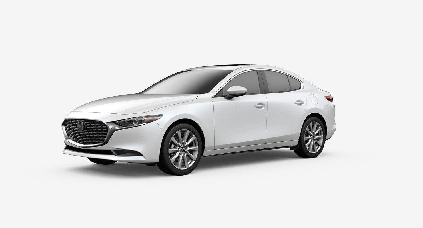2020 White Mazda 3 Concept Di 2020