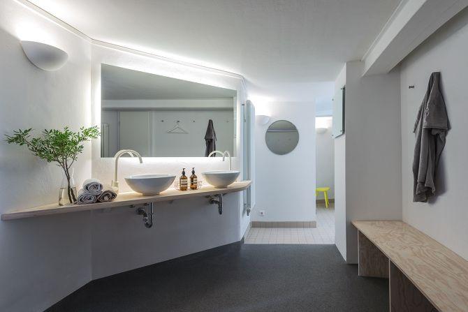 Interior design for e3 yoga personal fitness center berlin by studio joa herrenknecht joa