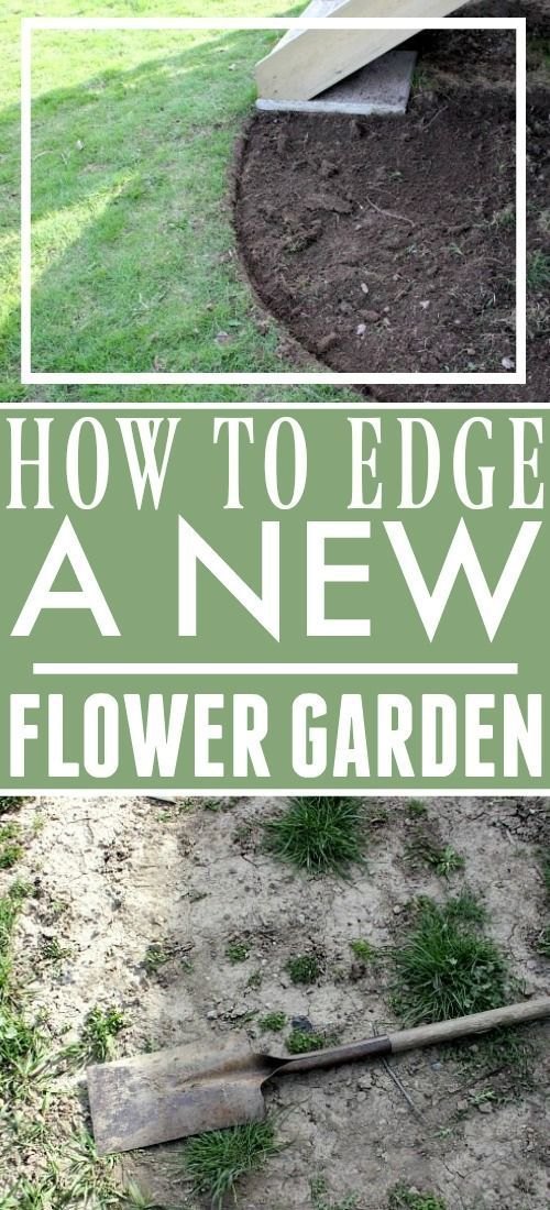 Photo of How to Edge a Flower Bed | The Creek Line House