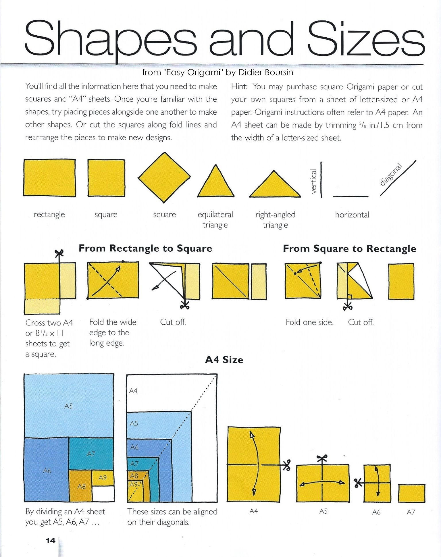 Elegant Of Easy Origami For Kids Using A4 Paper With Rectangle ... | 1939x1535