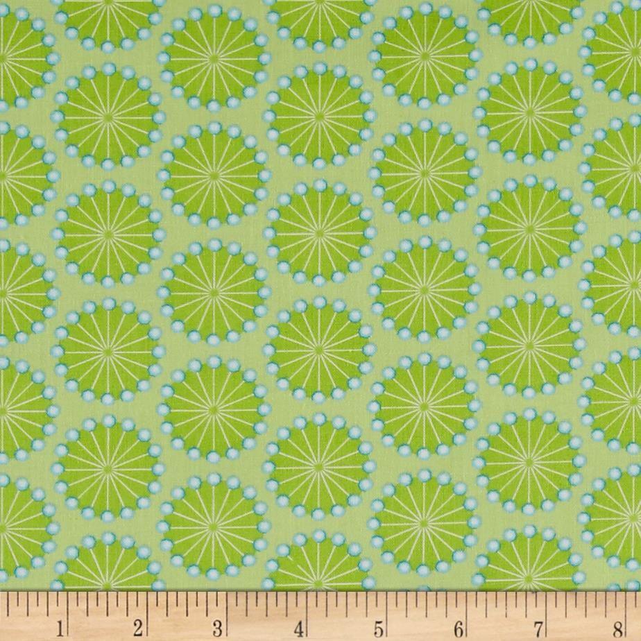 Sewing Room Pins Green