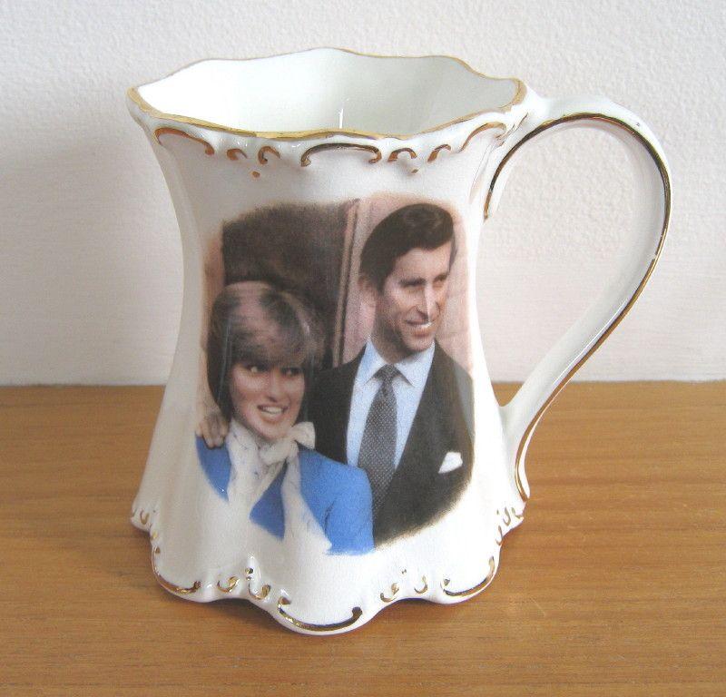 Royal Wedding Charles And Diana Commemorative Mug By St George Fine Bone China
