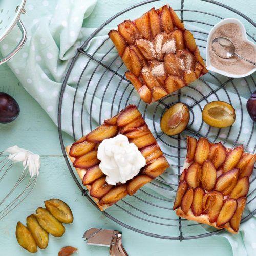 Schneller Zwetschgenkuchen mit Quark-Öl-Teig | Rezept