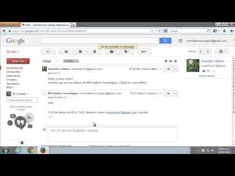 Manejo Básico Del Correo Electrónico De Gmail Correo Correo Electronico Tecnologia Informatica