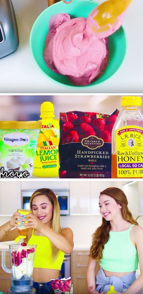 Make your own Froyo | Fun Things to Do in the Summer for Teens