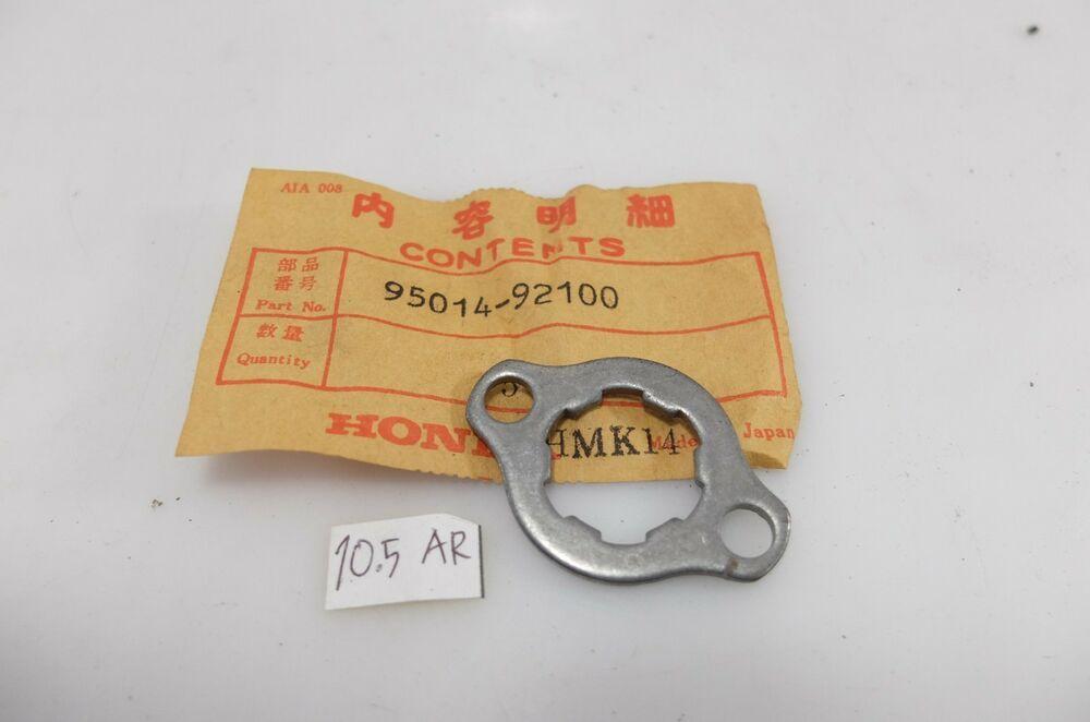 Honda Atv Atc200 Trx200 Nx125 Cmx250 Ca175 Front Gear Plate B Lock Nut Fixing Honda