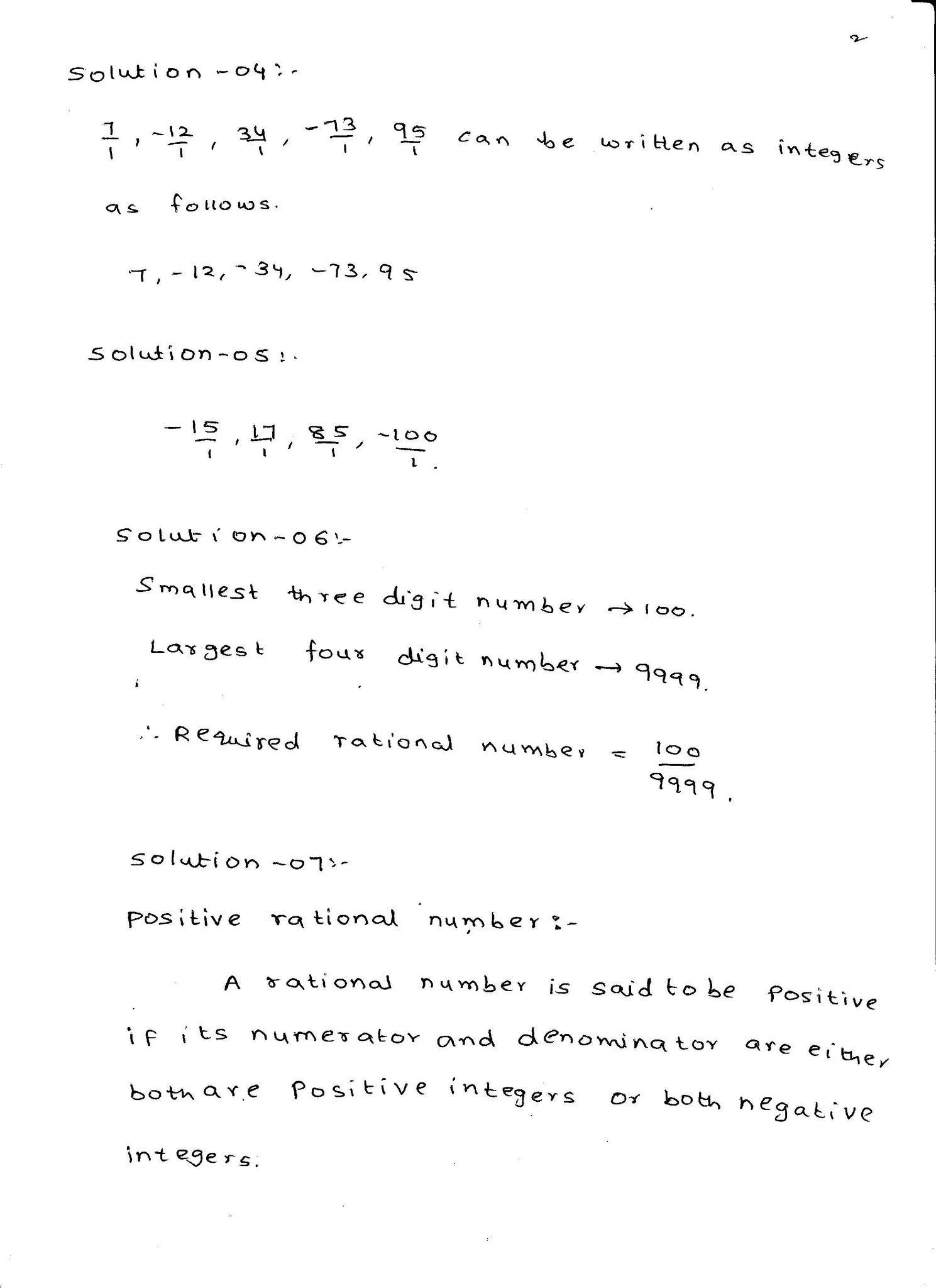 Rd Sharma Maths Solutions Class 7 Chapter 4 Rational Numbers Maths Solutions Rational Numbers Math [ 2048 x 1489 Pixel ]