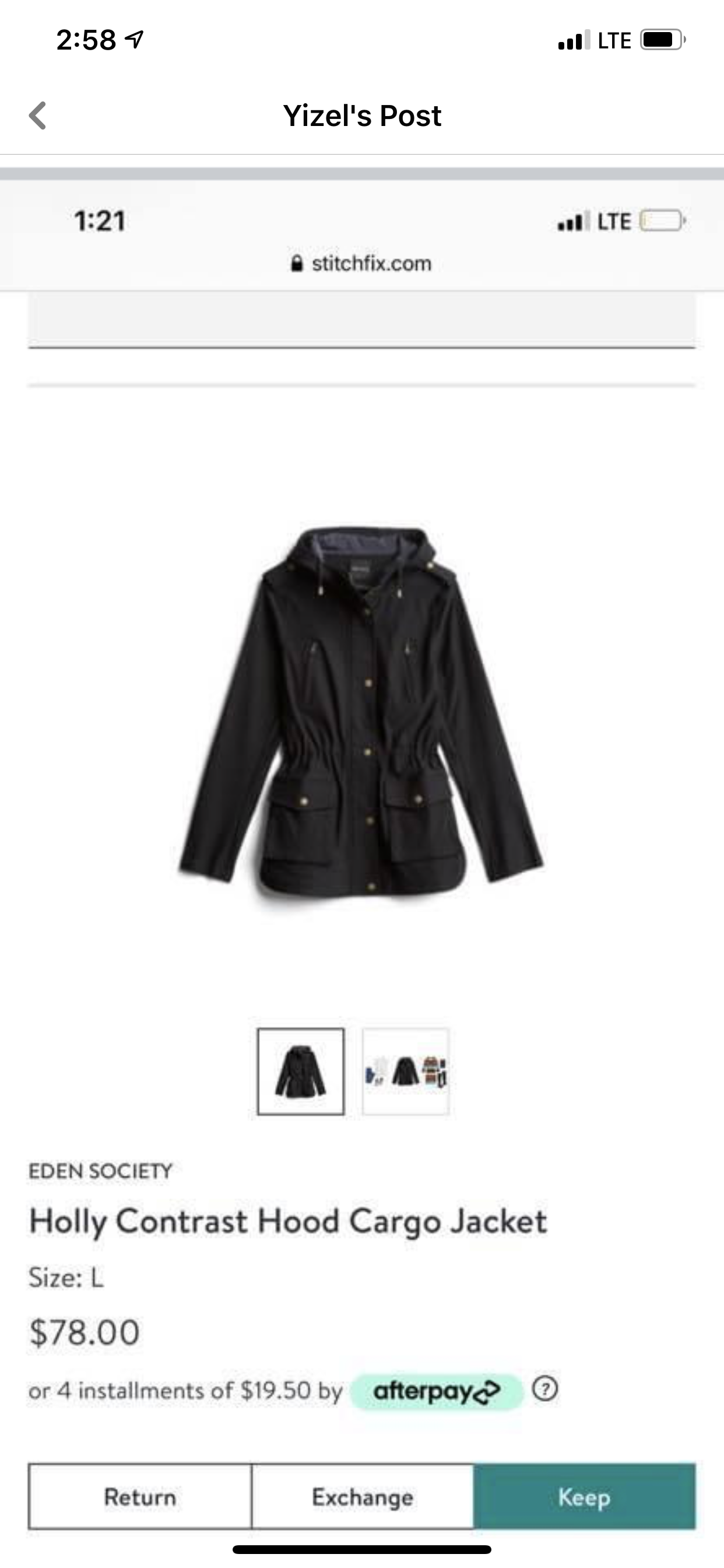 Pin By Keli Elizabeth On Stitch Fix Fashion Leather Jacket Jackets [ 2688 x 1242 Pixel ]