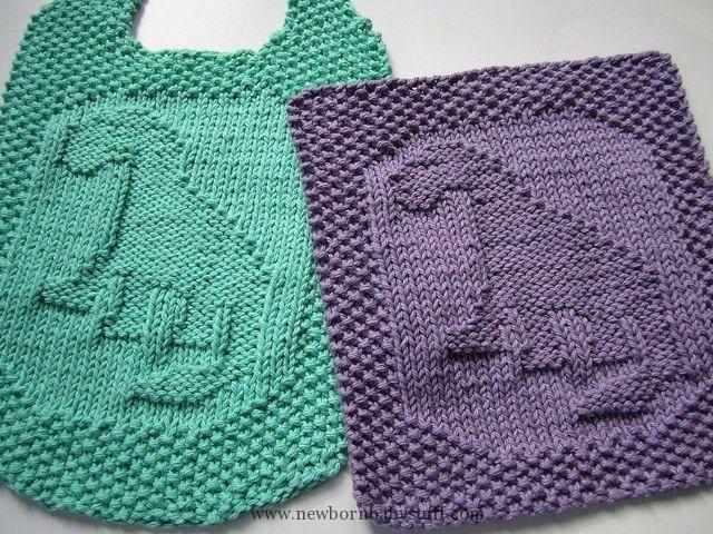 Baby Knitting Patterns Dishcloth And Washcloth Knitting Patterns