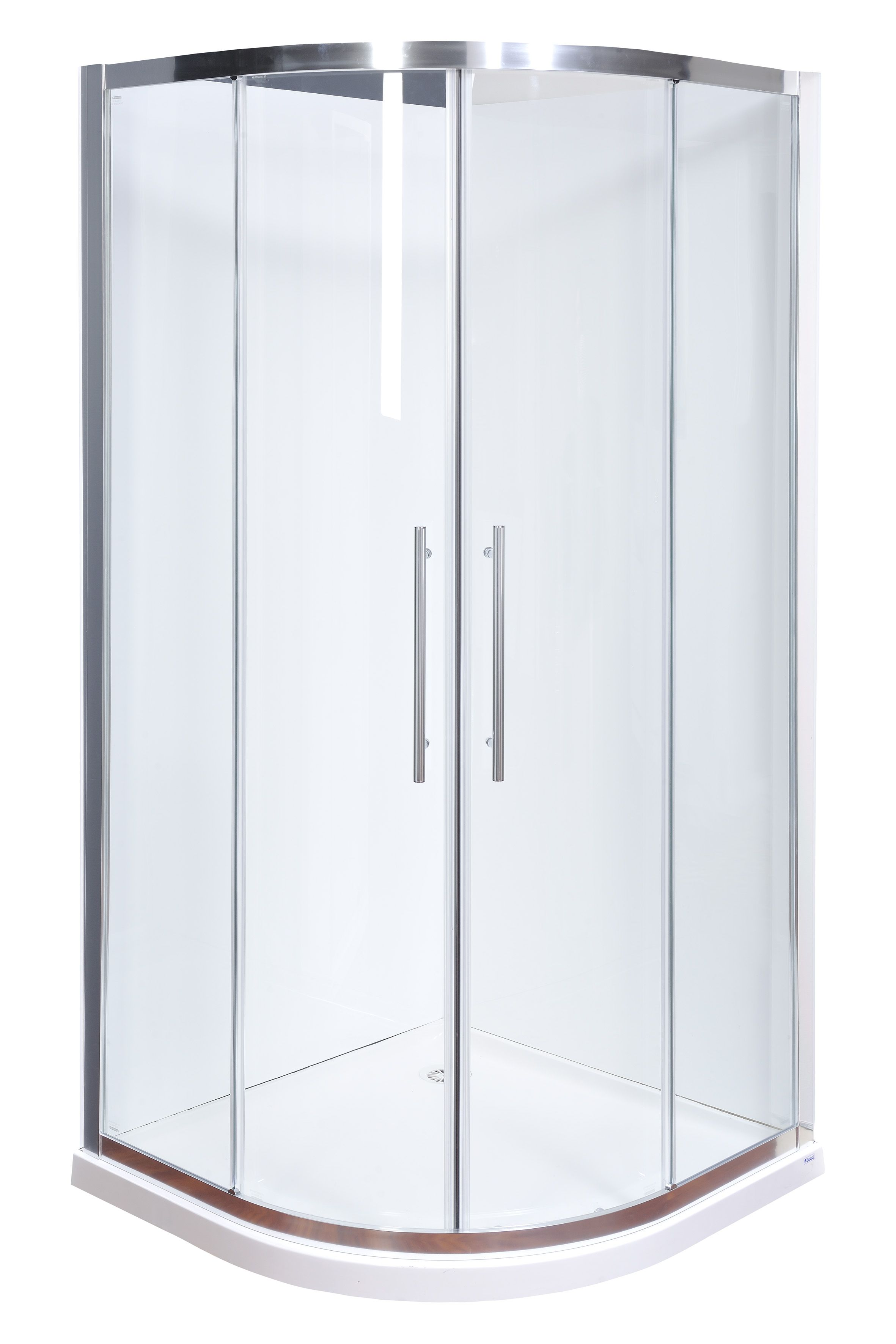 Shower Screen Carra Mtrend 1000x2000mm Curved Sscr99chcls Bunnings