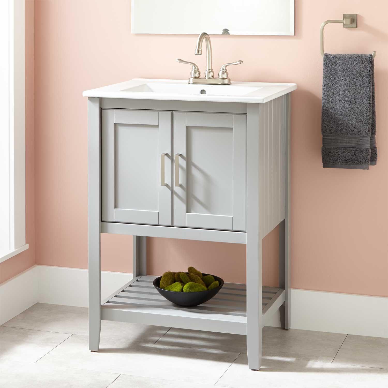 24 Valerie Vanity Bathroom Vanity Grey Bathroom Vanity Vanity