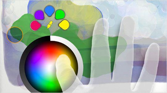 Macolina Design Adobe Eazel UI for iPad!