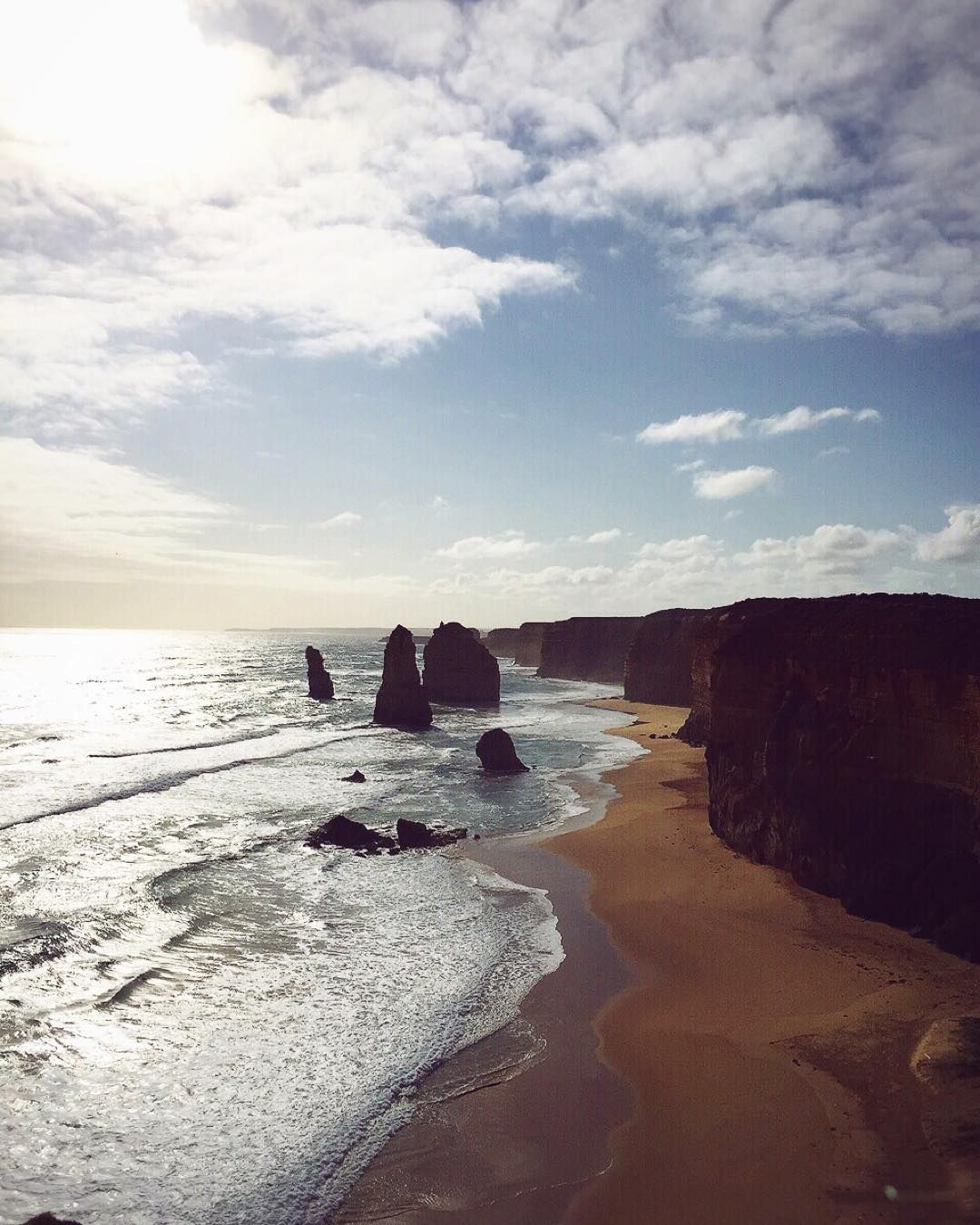 """Last Saturday I went there - Twelve Apostles on the Great Ocean Road. And pondered about the past... """"One of the difficulties of leaving a relationship is not so much at the end leaving the person themselves  because by that time youre ready to go; whats difficult is leaving the dreams that you shared together. And you know that somehow  no matter who you meet in your life in the future and no matter what species of happiness you would share with them  you will never ever share those…"""