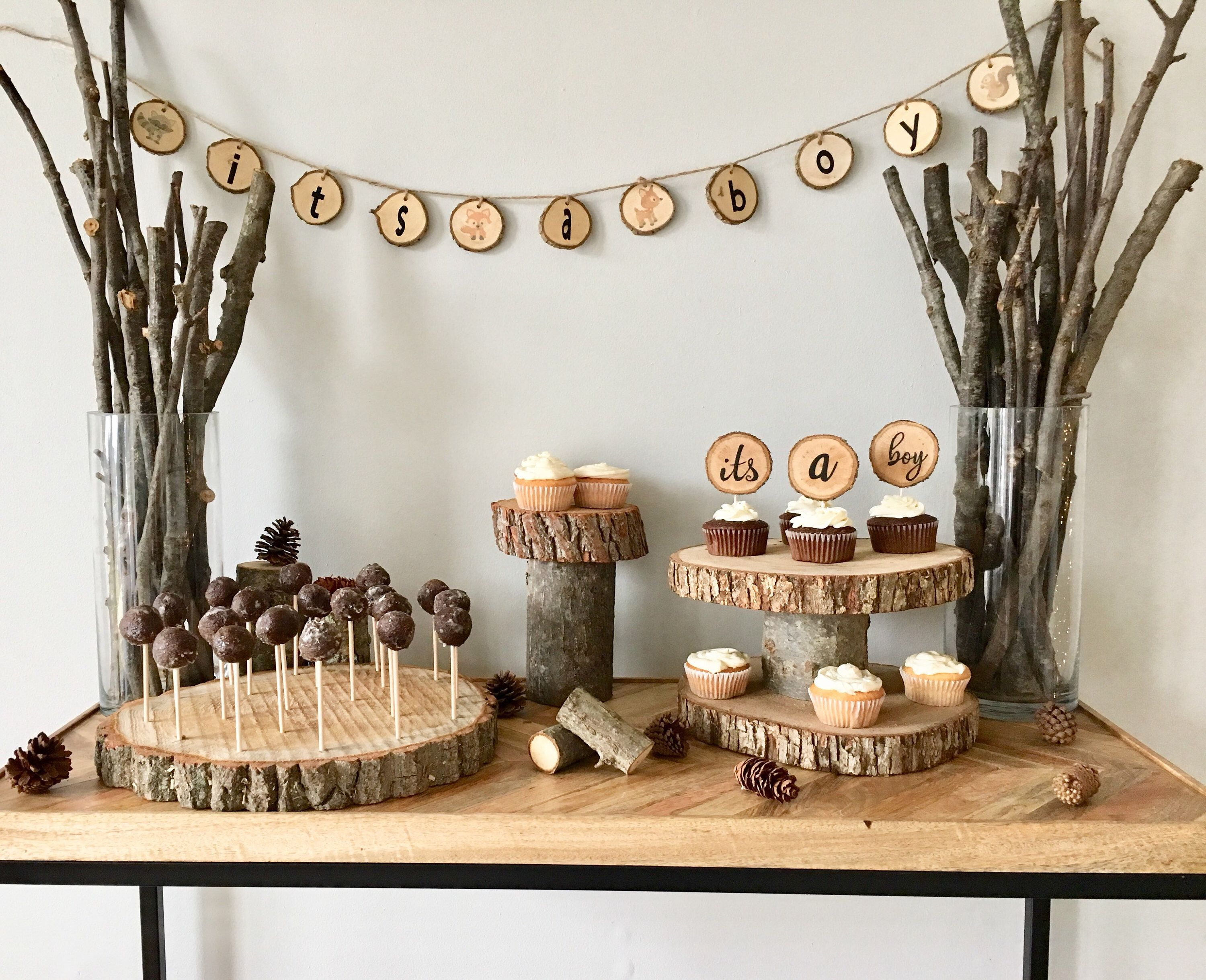 You Can T Have A Woodland Baby Shower With Our The Wood