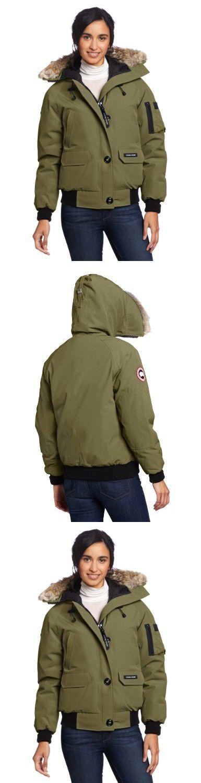 Canada Goose Chilliwack Ladies Bomber Jacket Military Green