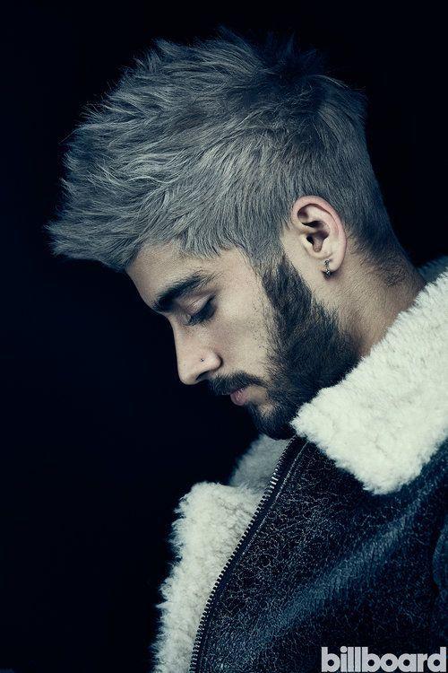 Zayn Malik White Hair